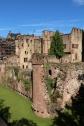 Castle Tower, Heidelberg castle moat