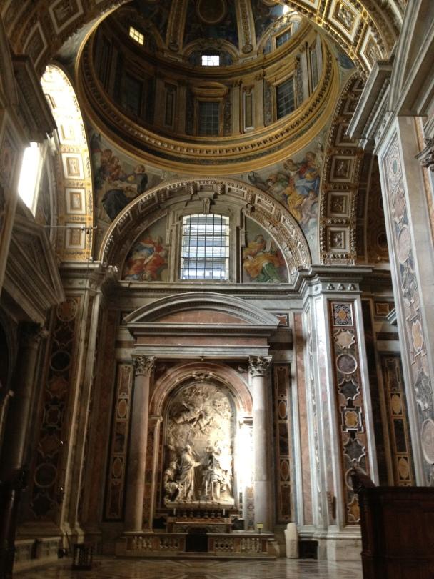 Notre Dame de Paris, side alter