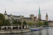 Zurich river front