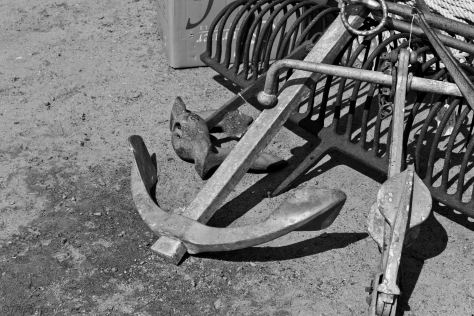 Old Boat Anchors