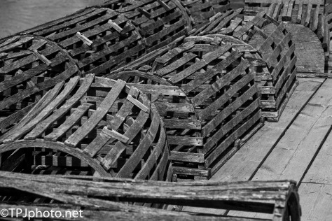 Wooden Lobster Traps - Click To Enlarge