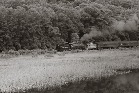 Steam train, Deep River Connecticut