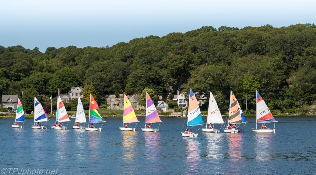 Mystic River Sailing Skiffs - Click To Enlarge