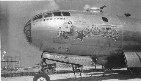Raidin Maiden - B29 Bomber WW II