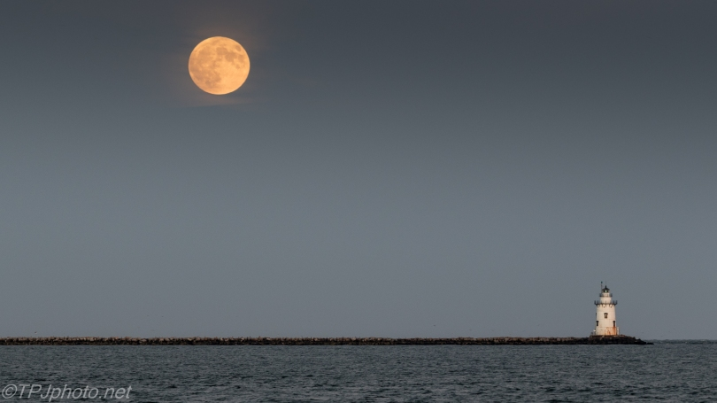 Lighthouse By Moonlight - Click To Enlarge