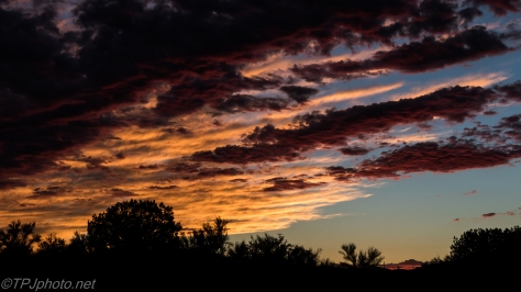 Red Rock Sunset - Click To Enlarge