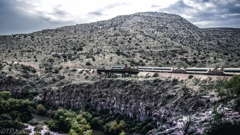 Canyon Rail Road To Perkins Mine - Click To Enlarge