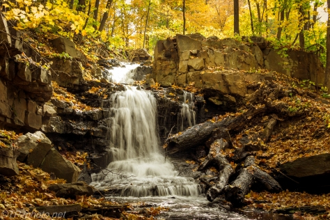 Autumn Waterfall - Click To Enlarge