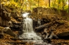 Old Grist Mill Dam Falls In Autumn - Click To Enlarge