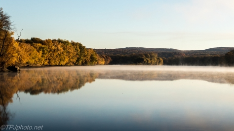 Fall Morning Connecticut River - Click To Enlarge