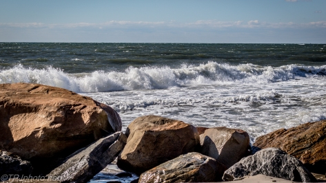 Wind Waves And A New Lens - Click To Enlarge