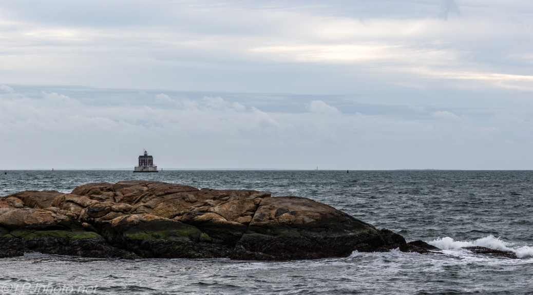 Ledge Light On The Last day Of Fall - Click To Enlarge