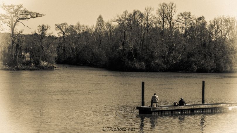 Fishing In The Old Santee Canal - Click To Enlarge