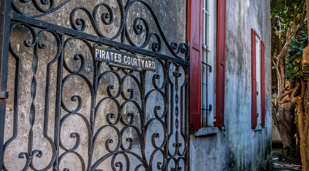 Pirates Courtyard - Click To Enlarge