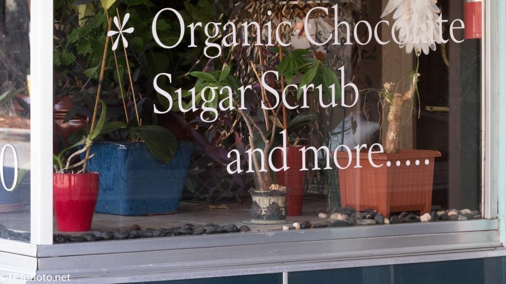 Chocolate Sugar Scrub - Click To Enlarge