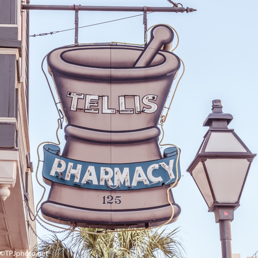 Old Sign, The Pharmacy Is Gone Though - Click To Enlarge