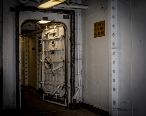 Below Deck On An Aircraft Carrier - Click To Enlarge