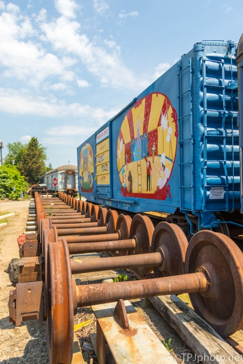 Treasure In A Train Yard - Click To Enlarge