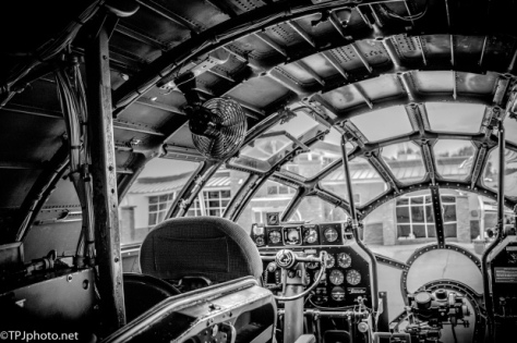 WW II Bomber Cockpit