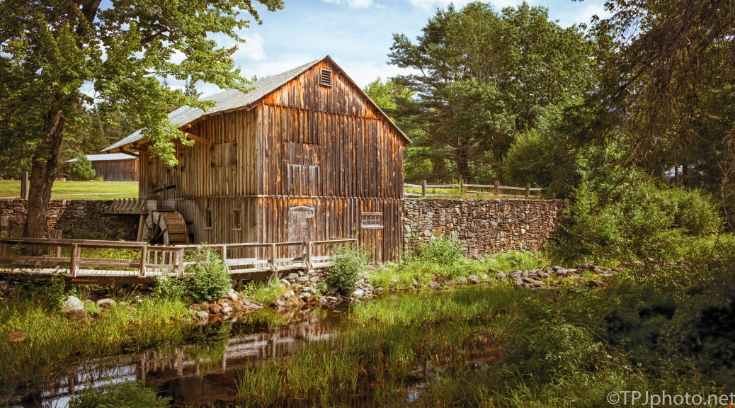 Old Mill, Maine - Click To Enlarge