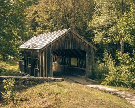 Old Covered Bridge - Click To Enlarge
