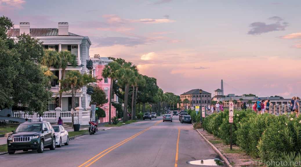 Along The Battery, Charleston, South Carolina - Click To Enlarge