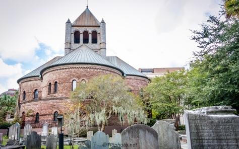 Behind The Circular Church - Click To Enlarge