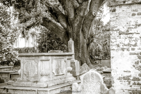 Circular Church Graveyard, Charleston - Click To Enlarge