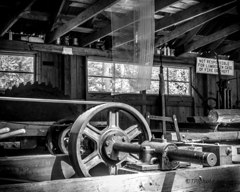 Old Saw Mill - Click To Enlarge