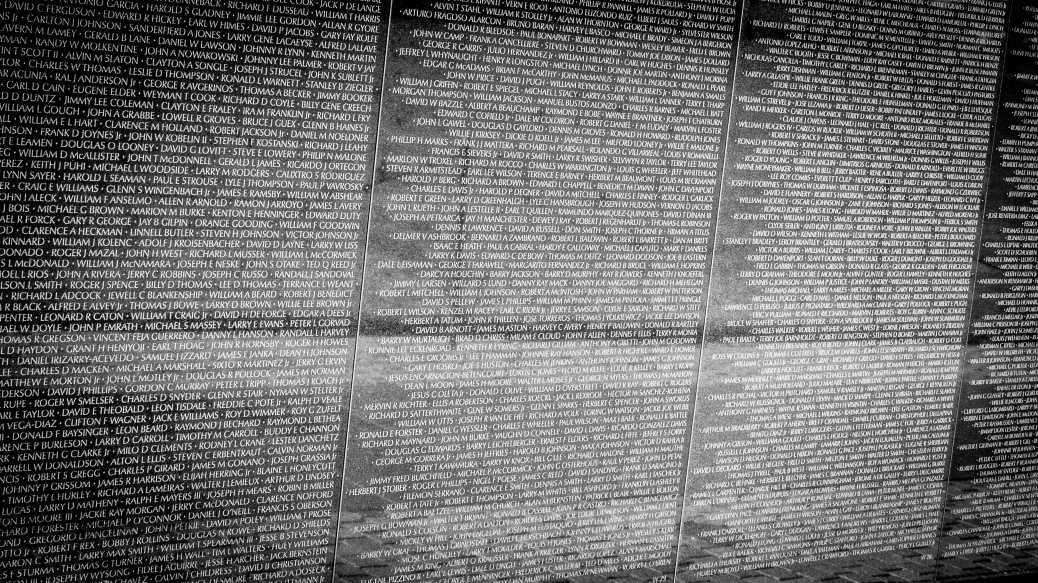 Vietnam Memorial - click to enlarge