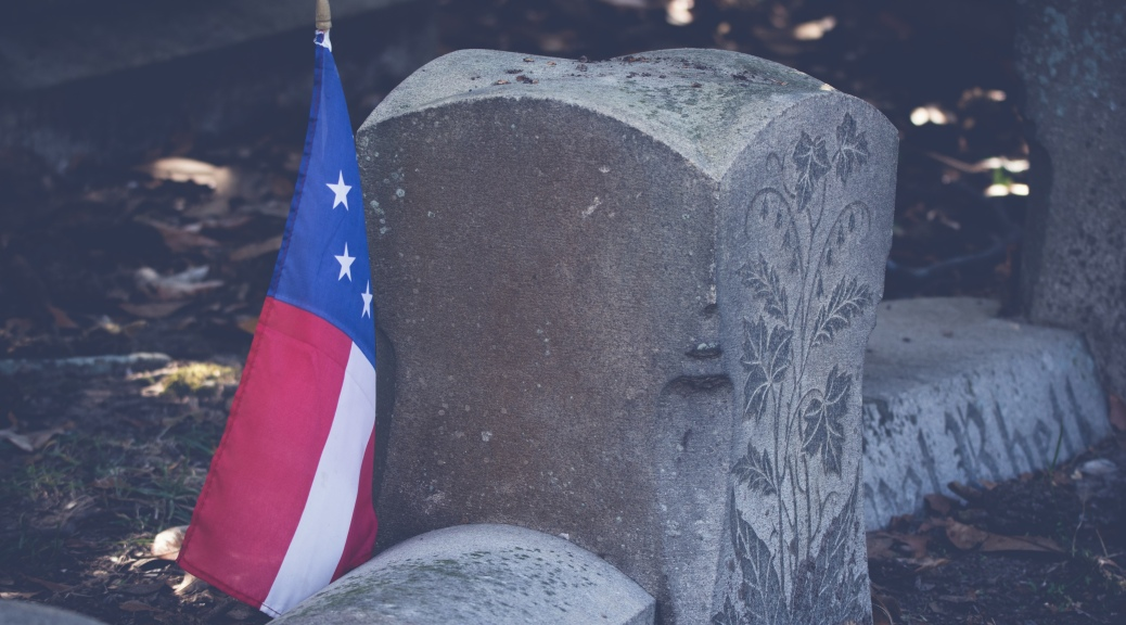 Old Ornate Headstone - click to enlarge