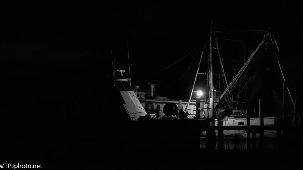 Shrimpers At Night - click to enlarge
