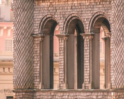 Charleston Rooftops, Circular Church - click to enlarge