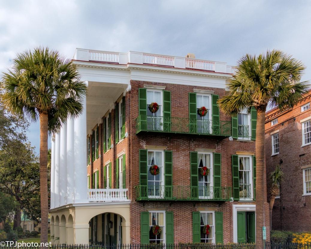 Charleston Holiday Decorations - click to enlarge