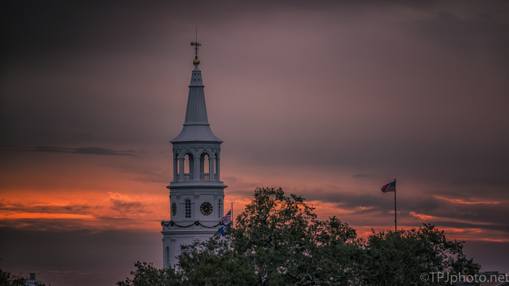 Charleston Sunset - click to enlarge