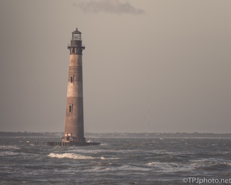 Cold Water, And A Lighthouse - click to enlarge
