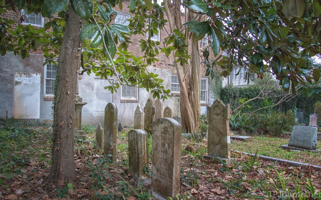 One Of Many, Charleston Grave Sites - click to enlarge
