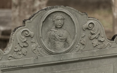 New England Headstone, South Carolina - click to enlarge