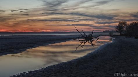 Sunset, Changing Landscape - click to enlarge