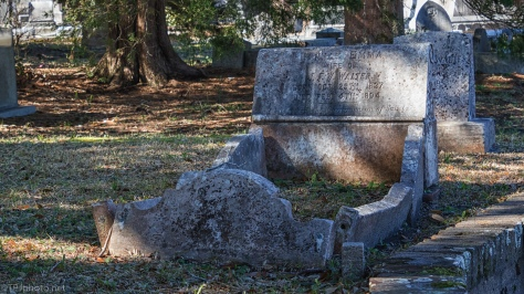 Old Headstones - click to enlarge