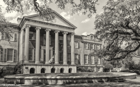 College Of Charleston, Sepia - click to enlarge