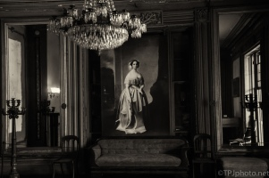 Shooting An Old Grand House (B&W) - click to enlarge
