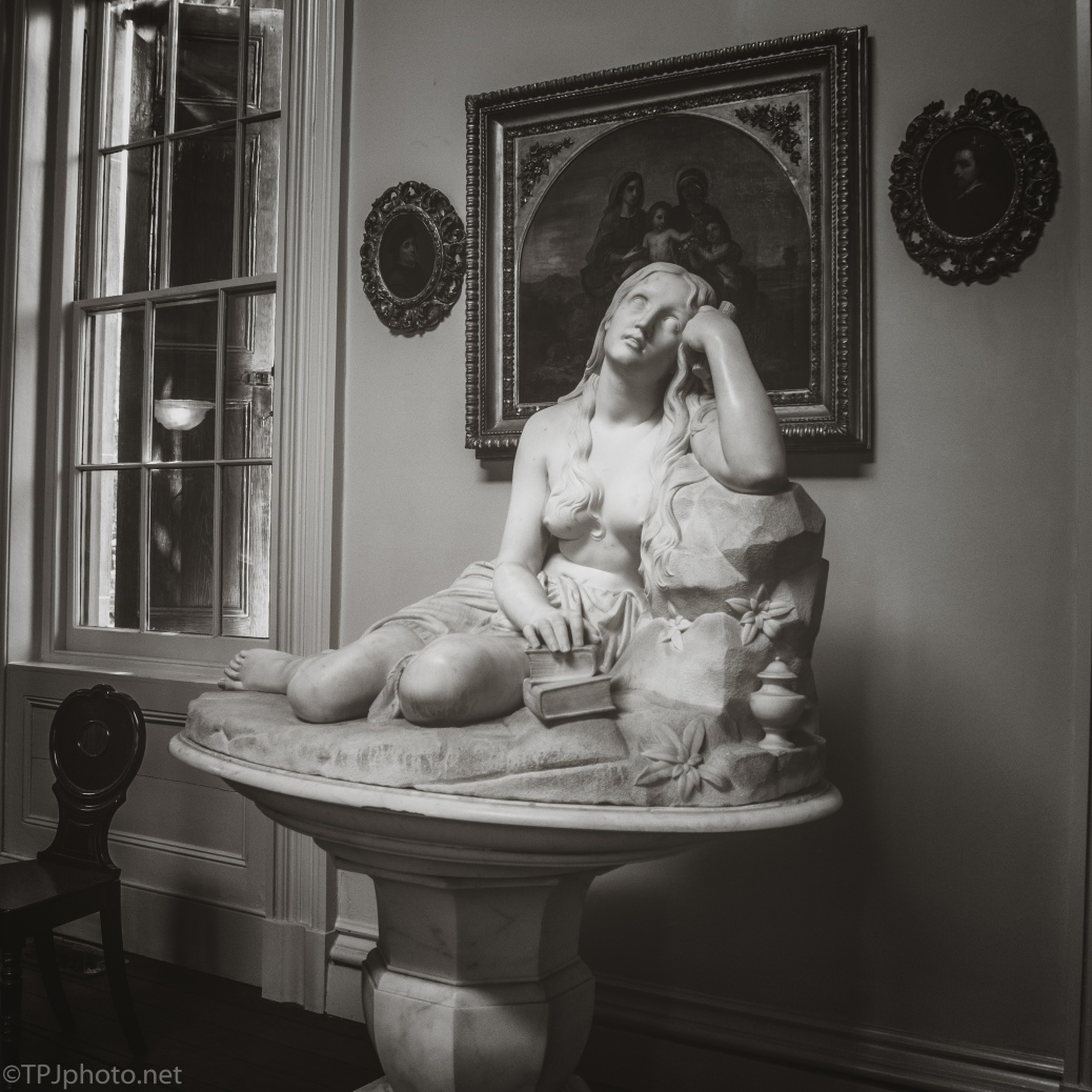 Statue, Private Collection (3), Charleston, South Carolina - click to enlarge