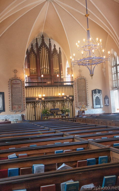 Huguenot Church, Founded 1687, Charleston, South Carolina - click to enlarge