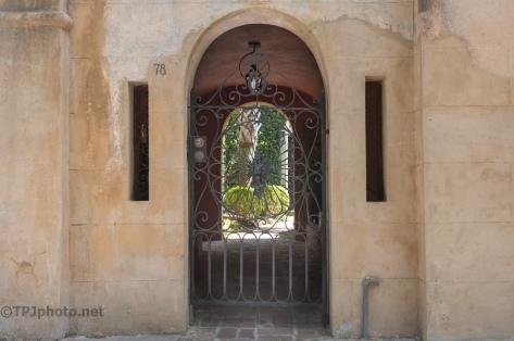 Back Garden Gate, Charleston - click to enlarge
