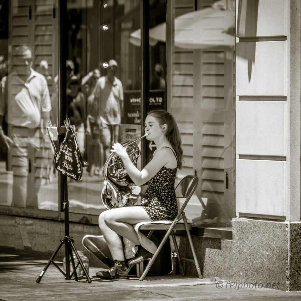Street Music - click to enlarge