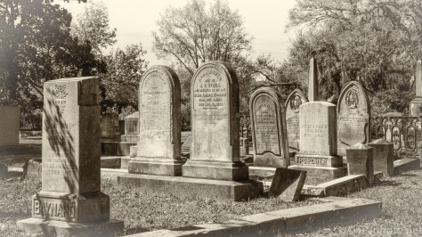 Walk Through Old Magnolia Cemetery - click to enlarge