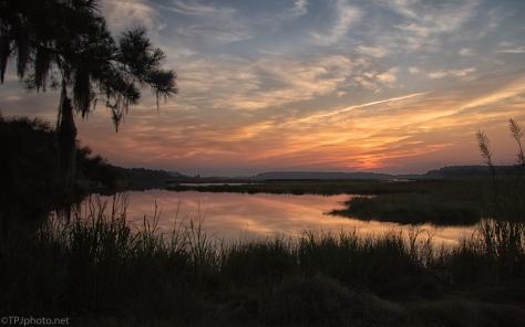 Marsh Sunrise - click to enlarge