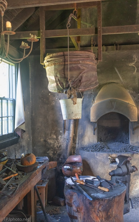 Visit To A Local Blacksmith - click to enlarge