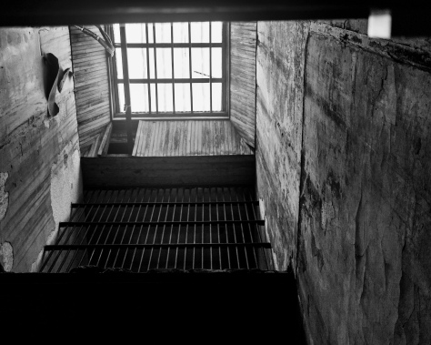 Up Inside The Old Charleston Jail - click to enlarge